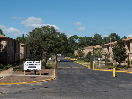 Escambia County has made a final offer to purchase the flood-prone Forest Creek apartments in Warrington for $11.9 million.