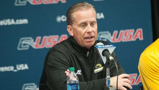Southern Miss football coach Todd Monken will lead the Golden Eagles against Washington in the Heart of Dallas Bowl on Dec. 26.
