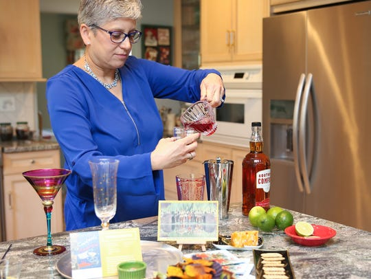 Diane Lapis, co-author of Cocktails across America