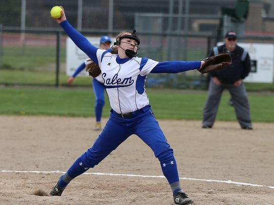 Expected to be Salem's go-to pitcher is junior Maddy