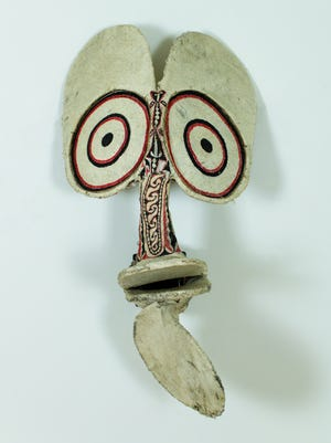 "The Freeport Art Museum will offer the exhibit ""Selections from the Collection"" showcasing objects from the museum's collections from Aug. 22 through Oct. 31. Pictured: The museum's Papua New Guinea fire dance mask."