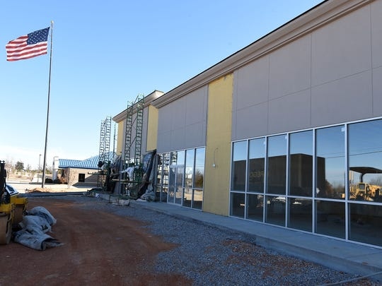 A new AT&T store, still under construction, was started in 2014 in Mountain Home.