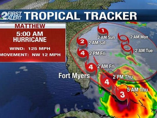 Hurricane Matthew is affecting broad areas of Florida even as it regains strength after brushes with Haiti, Cuba and the lower Bahamas.