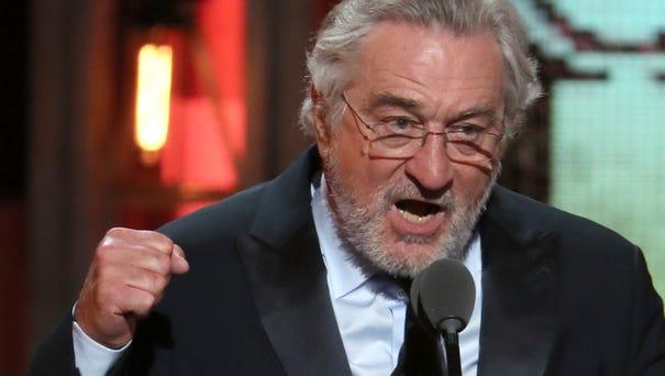 Robert De Niro introduces a performance by Bruce...