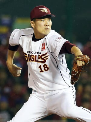 Masahiro Tanaka went 24-0 with a 1.27 ERA this past season in Japan.