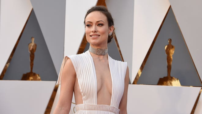 Pictured: elderly actress Olivia Wilde at the 2016 Oscars.