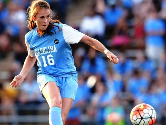 Verona native Julia Ashley thrived as a freshman on the University of North Carolina women's soccer team in 2015 and is preparing for the 2016 season.