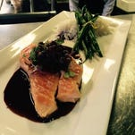 Grilled salmon is one of the many items that will be features at La Chasse on Bardstown Road.