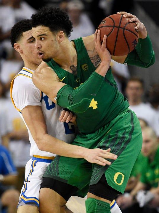 USP NCAA BASKETBALL: OREGON AT UCLA S BKC USA CA