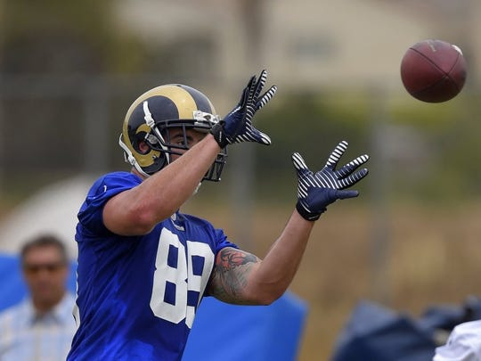 Rams tight end Tyler Higbee could be a reliable target