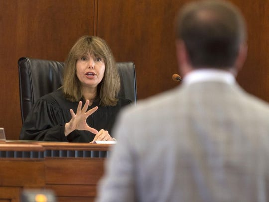 Tennessee Supreme Court Justice Holly Kirby (PAUL EFIRD/NEWS SENTINEL)