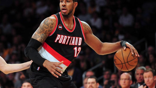 Portland Trail Blazers forward LaMarcus Aldridge is one of many unrestricted free agents that NBA teams will be competing for starting Wednesday