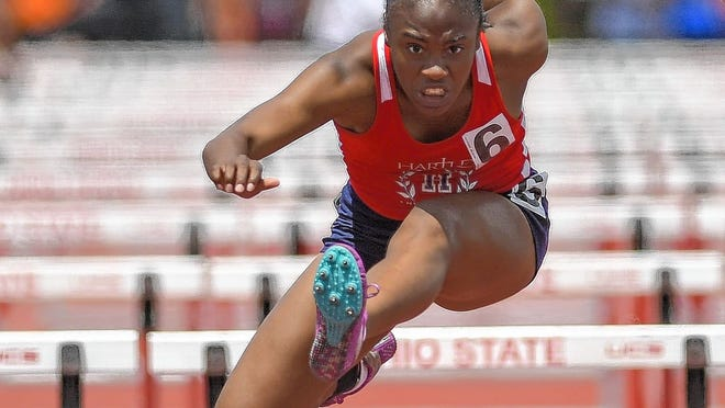 Hartley graduate Bailey Smith plans to compete in track and field for Tennessee State next season after reaching the Division II state meet in 2019. Smith's senior season with the Hawks was canceled because of the COVID-19 coronavirus pandemic.