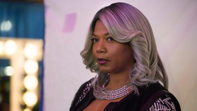 "Queen Latifah in the Jan. 18 ""Code of Silence"" episode of Fox's ""Star."""