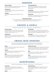 The Rising Tide Tap & Table menu will change and evolve