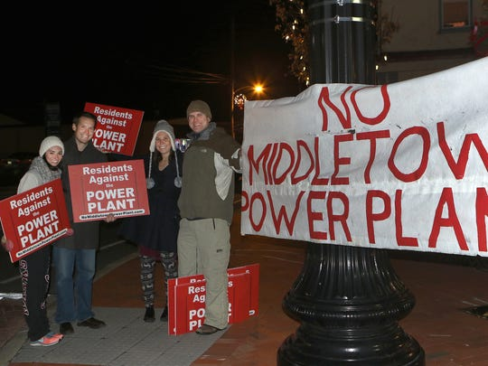 Residents Against the Power Plant will have a couple of more opportunities to protest the Middletown Data Center as DENREC officials say the soonest air quality permits will be published is February. The group protests each month on the night of the Mayor and Town Council meeting.