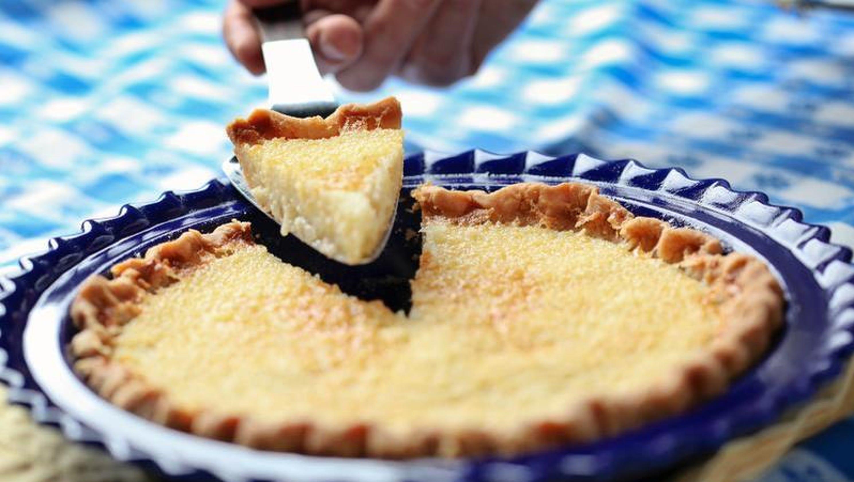 Bourbon buttermilk pie [Recipe]