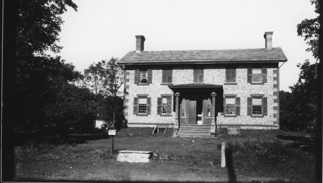 This circa 1900 photo shows the Bonesteel Homestead, 200 High Point Drive, Victor.