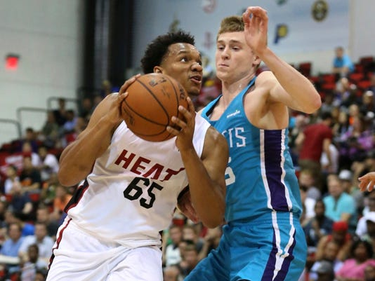AP SUMMER LEAGUE HORNETS HEAT BASKETBALL S BKN USA NV