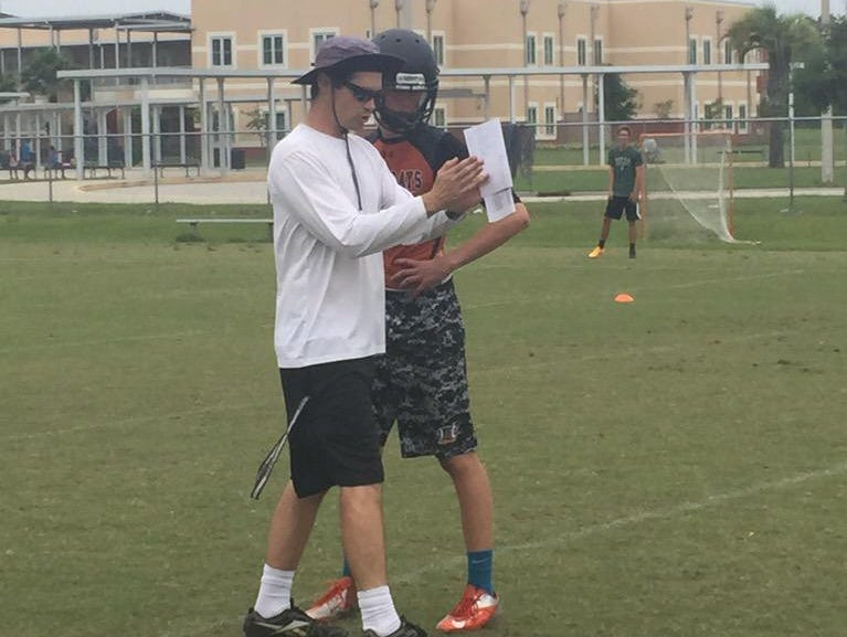 It was a new beginning for Atlantic Coast Monday afternoon as the football team opened spring practice under new head coach Matt Elliott.