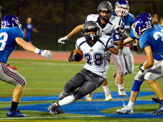 Nyzair Smith returns for Dallastown after rushing for more than 2,000 yards a season ago. DISPATCH FILE PHOTO