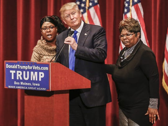 Internet sensation Diamond and Silk come to support