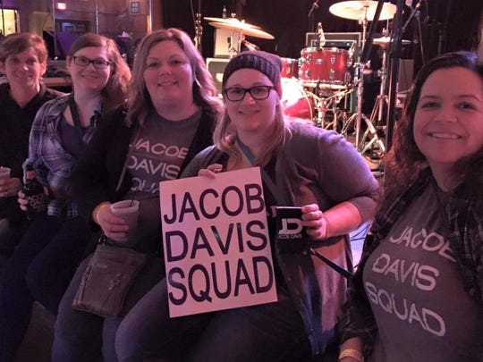 The Jacob Davis Squad -- a fan club for the musician--
