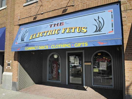 The Electric Fetus store in St. Cloud, seen in May