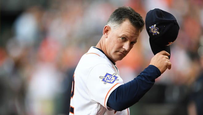 A.J. Hinch guided Houston to its first World Series title last season.