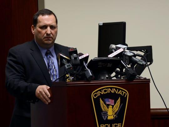 """Assistant Police Chief, Dave Bailey speaks about the death of 21- year UC student, Brogan Dulle on Tuesday, May 27. The coroner's report confirmed that Dulle took his own life by asphyxia. Bailey says it appears as if this was a case of a """"21 year old who was confused about life's direction."""" The investigation leaves many questions unanswered. Bailey says, """"Sometimes you get to the end of these things and you don't have answers for everything."""""""