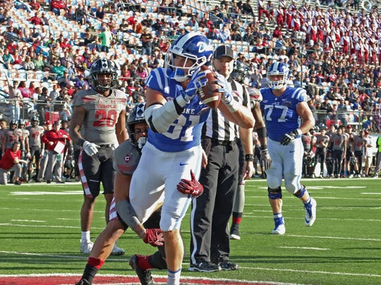 The Temple Owls take on the Duke Blue Devils in the