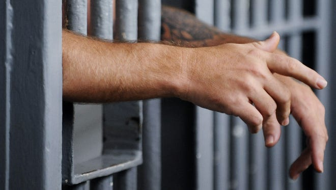 An inmate in an isolation cell at Kilby Correctional Facility in Montgomery, Ala. on Monday July 27, 2009.(Montgomery Advertiser, Mickey Welsh)