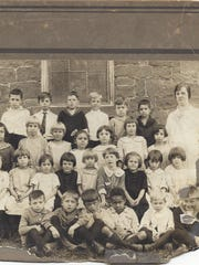 The mystery surrounding this school photo published Oct. 4, 2016, has been solved. The school has been identified as Cornwall School on Burd Coleman Road in Cornwall, according to the Lebanon County Historical Society. All of the students are identified on the back of the photo, as is the teacher, Miss Esther Haines. The date on the back of the photo is 1925.