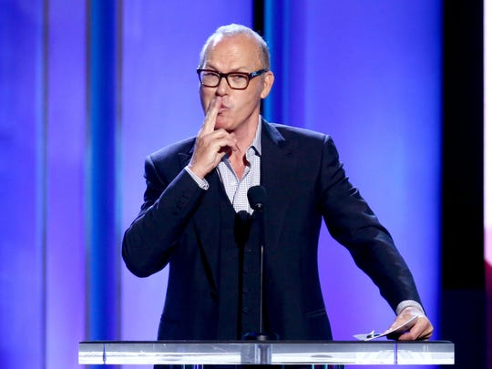 Michael Keaton speaks onstage during the 2019 Film Independent Spirit Awards on February 23, 2019 in Santa Monica, California.