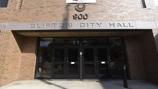 Clifton City Hall and Clifton police headquarters.