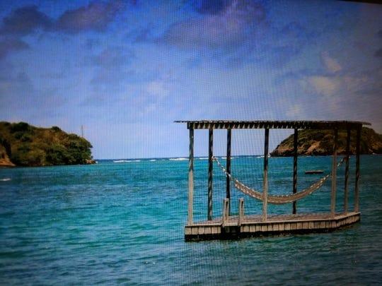 Floating raft hammock Grenada