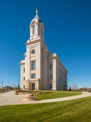 The LDS Cedar City Temple.