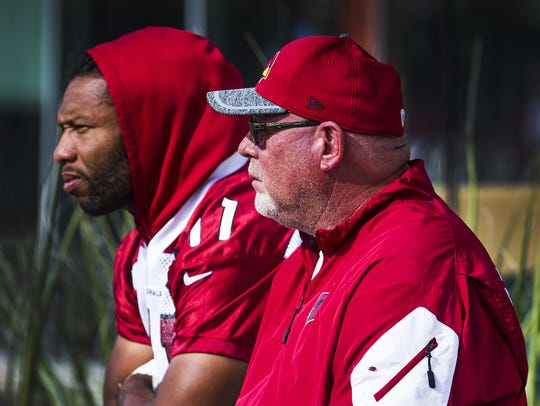 Will Larry Fitzgerald and/or Bruce Arians give us any