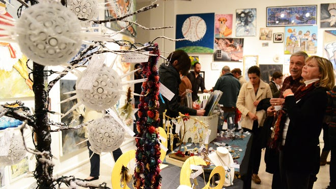 On Friday and Saturday, guests will have a wide range of artwork to choose from at the 66th annual Memphis College of Art Holiday Bazaar.