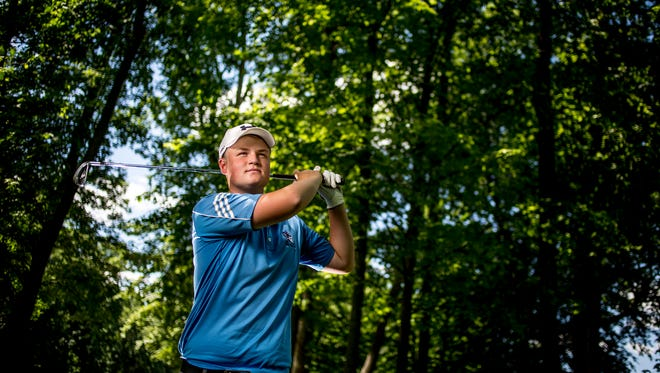 Richmond High School junior Noah Kosal is the Times Herald Golfer of the Year.