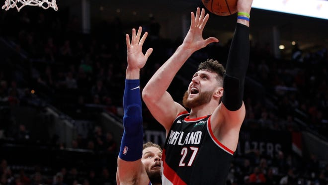 Portland Trail Blazers center Jusuf Nurkic is back and healthy as the four-month NBA shutdown allowed a lot of ailing players a chance to get well.