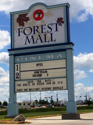 Tim Luedtke had hoped to re-open the closed Forest Mall cinema.