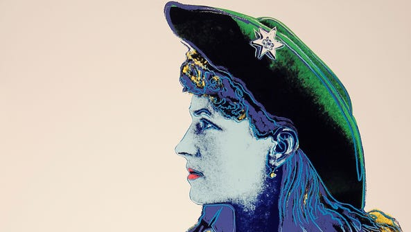 "Andy Warhol's ""Annie Oakley"" screenprint from the 1986"