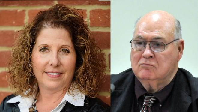 Holly Miller Downour, left, and Harry Hiles are running for the fifth ward seat on Lancaster City Council. Miller Downour is running as a Republican and Hiles is running as a Democrat.