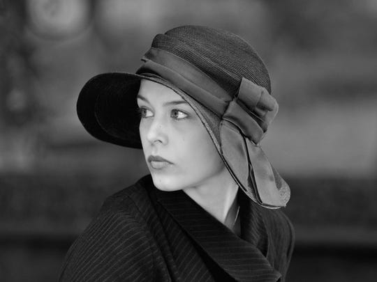 "Paula Beer in the French film ""Frantz."""