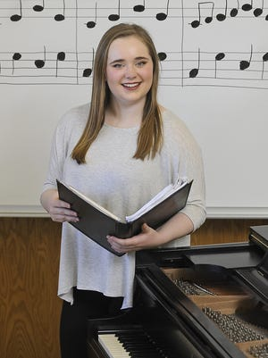 Lincoln's Lorin Phillips loves to sing and perform. Phillips plans to double major in music and math at college.