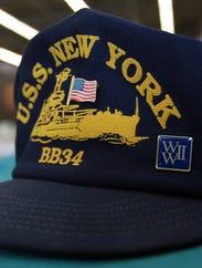 USS New York BB34 ball cap