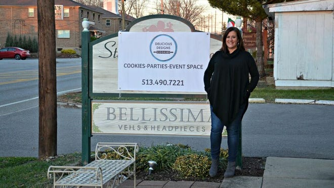 West Chester resident Arin Singer-Bonk recently opened her business Delicious Design Cookies in West Chester.