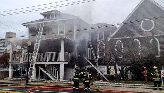 At least one person died Nov. 26, 2013, at St. Paul's by-the-Sea Episcopal Church in Ocean City, Md., after someone reportedly entered a building where the church housed its food bank while on fire.