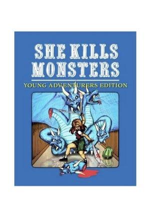 """""""She Kills Monsters"""" poster."""